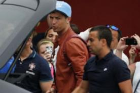 Mundial Brasil 2014: Cristiano Ronaldo llega lesionado a Portugal