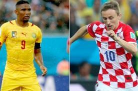 Minuto a minuto Croacia vs Camerún (4-0) – Mundial Brasil 2014 – ATV En Vivo