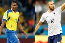 Minuto a minuto Ecuador vs Francia (0-0) – Mundial Brasil 2014 – ATV En Vivo