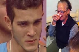 Ancianita llora eliminación de Mario Irivarren en Combate [VIDEO]