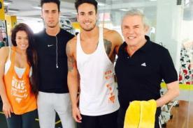 ¡Luis Castañeda finalmente se deja ver con Gino Assereto y Jazmín Pinedo! [Foto]