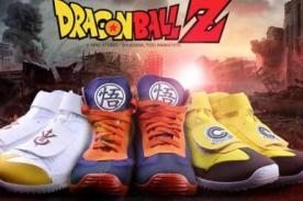 Dragon Ball Z: Marca mexicana lanza zapatillas oficiales del anime [FOTOS]