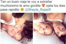 Patricio Parodi publica fotos con Sheyla Rojas en la cama