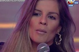 Alejandra Baigorria regresó a Combate con tremendo cambio de look - VIDEO