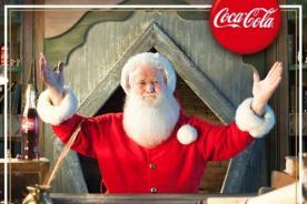 ¡El Llamado de Papá Noel de Coca-Cola regresó para hacer feliz a todos los niños!