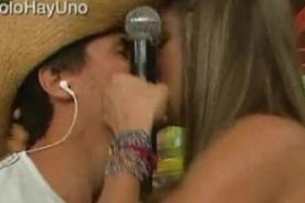 ¿Por qué Coco Maggio y Vanessa Jerí se besaron en Combate? - VIDEO