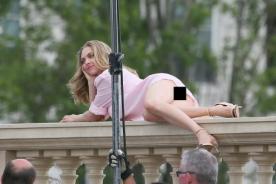 Amanda Seyfried tuvo TREMENDO descuido en sesión de fotos