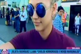Cuéntamelo Todo: ¿Julieta Rodríguez regresa al Perú y esto lo comprueba?