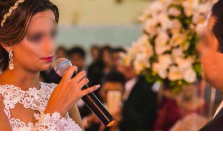 Mujer revela la infidelidad de su esposo el día de su boda