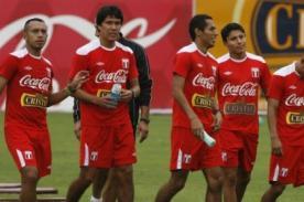 Fútbol peruano: Selección volvió a los entrenamientos en la Videna