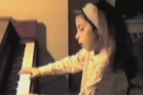 Lady Gaga comparte video de cuando tenía siete años de edad