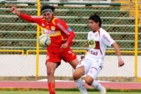 Sport Huancayo vs IntiGas (1-1) en vivo - Descentralizado 2012