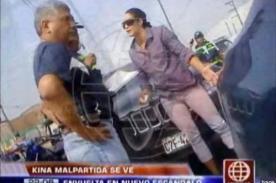 Video: Kina Malpartida habría intentado fugar tras chocar su camioneta
