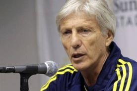 José Pékerman: Perú es un equipo que siempre sale a atacar