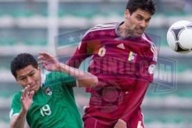 Venezuela y Bolivia jugarán partido amistoso - Eliminatorias 2014