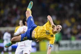 Video: Golazo de Zlatan Ibrahimovic se perfila para ser el mejor del año