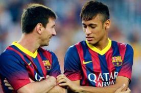 Jugador de Barcelona: Neymar debe asumir el rol de Lionel Messi