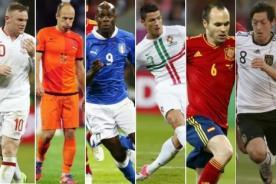 Mundial Brasil 2014: Estos son los 30 clasificados hasta ahora