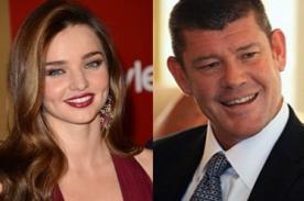 Miranda Kerr mantendría una relación con el multimillonario James Packer
