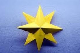 Arbol de Navidad: Cómo hacer una estrella navideña 3D con papel