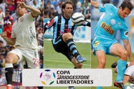 Copa Libertadores 2014: Estos serán los rivales de los equipos peruanos