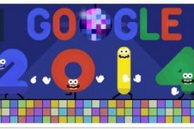 Año Nuevo 2014: Google celebra con festivo doodle