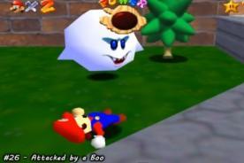 Video: Mira las 128 maneras diferentes de morir en Super Mario 64