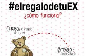 #elregalodetuEX: Tienda lanza curiosa campaña por San Valentín