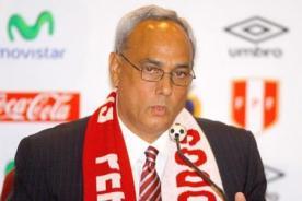 FPF: Manuel Burga se irá de vacaciones y aplazará la búsqueda del DT