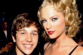 Taylor Swift da consejo a  Austin Mahone durante su gira Red Tour
