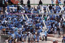 'U' de Chile: Hinchas del Garcilaso apedrearon hotel donde se alojaba el club chileno