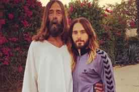 Jared Leto se toma fotografía junto a Jesús en Semana Santa - FOTO