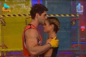 EEG: Sebastián Lizarzaburu y Andrea San Martín demuestran su amor