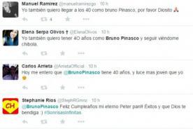 ¿Hizo un pacto? Bruno Pinasco cumplió 40 años y fans comentan atónitos