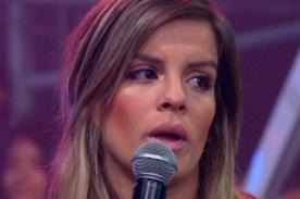 Alejandra Baigorria sufre aparatosa caída en discoteca - VIDEO