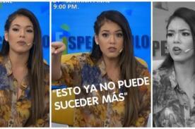 Jazmín Pinedo explota por agresión a reporteros y le pide esto a Latina