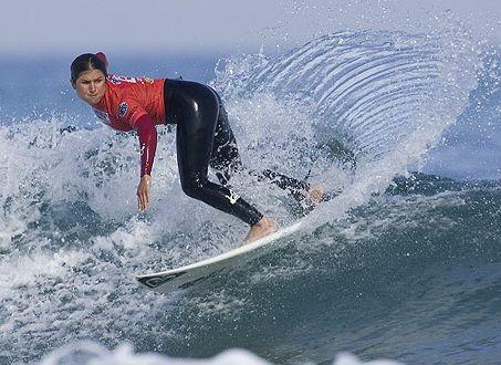 Sofía Mulanovich en octavos de final de torneo de España
