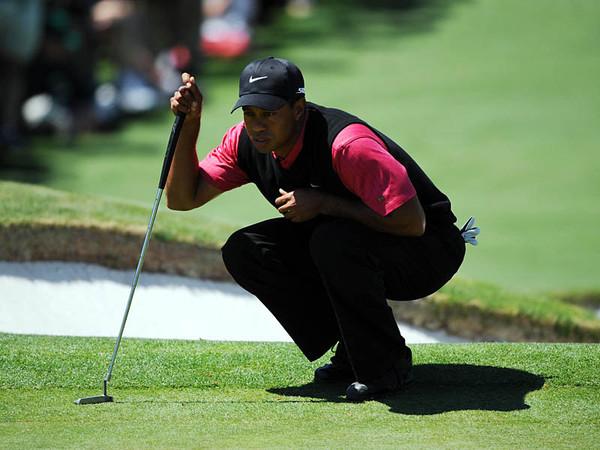 Tiger Woods derriba a sus amantes en videojuego