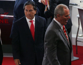 Debate Presidencial: PPK le dice a Toledo que su propuesta no es polarizante