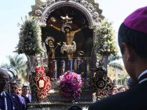 Alianza Lima: Plantel se encomienda al Señor de los Milagros