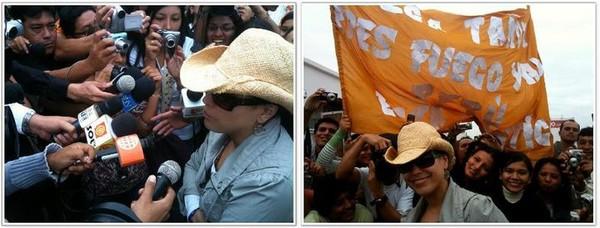 Olga Tañón: Ya era hora de hacer conciertos al interior de Perú