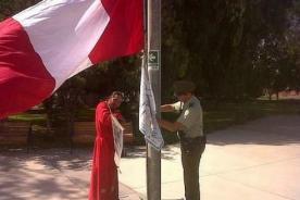 Chile vs Perú: Hincha peruano es arrestado en Arica por izar bandera