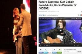 Kurt Cobain peruano hace noticia en portal americano