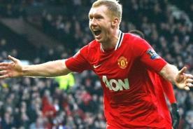 Fútbol inglés: Paul Scholes renueva un año más con el Manchester United