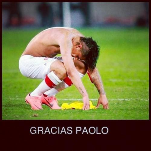 'Gracias Paolo' se convierte en tendencia en Twitter tras derrota ante Uruguay
