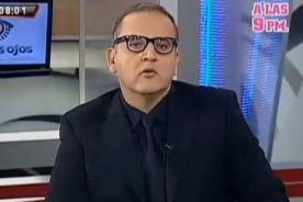 Video Completo: Beto Ortiz declara acerca de la muerte de Ruth Thalía