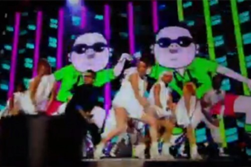 Video: Psy causó furor en los MTV EMA 2012 con 'Gangnam Style'