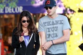 Ex amante de Ashton Kutcher recomienda a Mila Kunis que lo vigile
