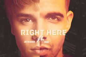 Justin Bieber publica letra de su nuevo tema 'Right Here' - Video