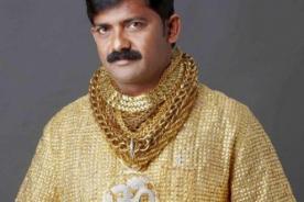 India: Diseñan camisa de oro que cuesta 250 mil dólares